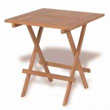 Négyszemélyes összecsukható kerti asztal [55 x 60 x 65 cm]