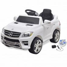 Elektromos kisautó fehér Mercedes Benz ML350