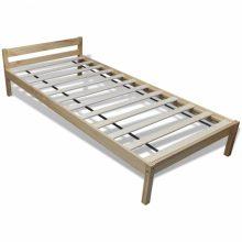 """VID Fa ágy 90x200 cm """"V7"""", ágyráccsal, tölgy színben"""