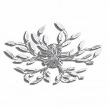 VID-Átlátszó kristály mennyezeti lámpa Akril,  fehér színben