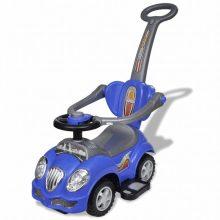 VID Gyerek játék, autó hang- és fényeffekttel, tolórúddal [kék]
