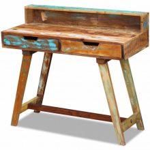 Egyedi újrahasznosított fa íróasztal