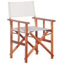 VID tömör akácfa rendezői szék