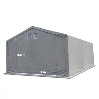 Raktársátor 6x8m professional 3m oldalmagassággal, 550g/m2