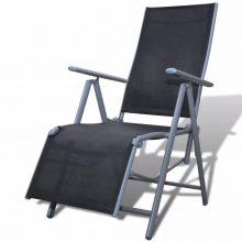 VID Összecsukkható napozóágy / nyugágy / kerti szék