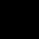 Egyszínű Mikropoliészter bolyhos szőnyeg - fekete - 120 cm átmérőjű