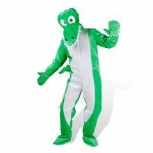 Krokodil jelmez két méretben