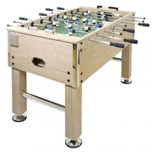 MAX Profi nagy csocsó asztal/ asztali foci - tölgy színben