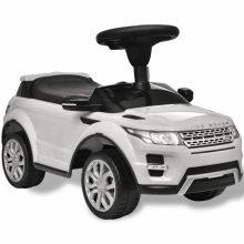 Elektromos kisautó fehér Land Rover