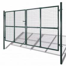 VID két kapus pórszórt acél kerítés