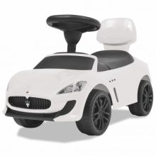VID Lábbal hajtható Maserati kisautó [fehér]