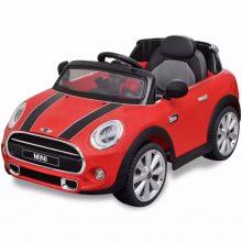 Elektromos kisautó piros Mini Cooper
