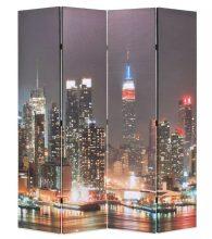 VID paraván 160 x 180 cm New York éjjel
