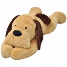 VID ölelni való barna plüss kutya [80 cm]