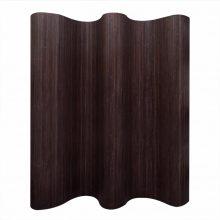 VID Tartós bambusz paraván [sötétbarna színben]