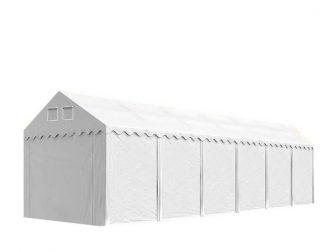 Raktársátor 3x12m professional 2,6m oldalmagassággal, 550g/m2