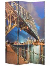 VID paraván 120 x 180 cm sydney-i Kikötőhíd