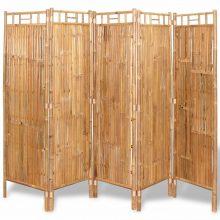 5 részes bambusz paraván