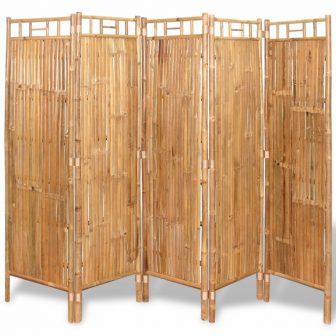 VID 5 részes bambusz paraván