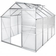 Economy üvegház/polikarbonát melegház - 4,41 m²