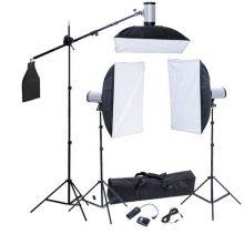 Softbox fotóstúdió lámpa szett