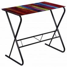 Mintás felületű íróasztal