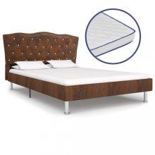 VID barna szövetágy memóriahabos matraccal 160x200cm