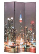 VID paraván 120 x 180 cm New York éjjel