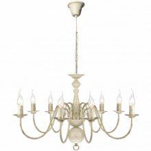VID Antik mennyezeti függő lámpa/ csillár, fehér színben
