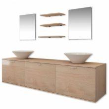 8 részes fürdőszoba bútor szett