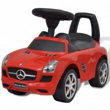 Mercedes Benz Tolható gyerekautó piros színben