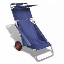 Hordozható strandkocsi, strandszék