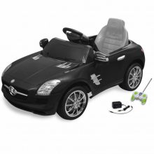 VID Elektromos kisautó fekete Mercedes Benz SLS AMG