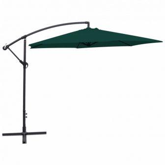 VID 3 m zöld konzolos UV álló napernyő