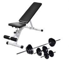 VID edzőpad egykezes és kétkezes súlyzókészlettel 30,5 kg 625964