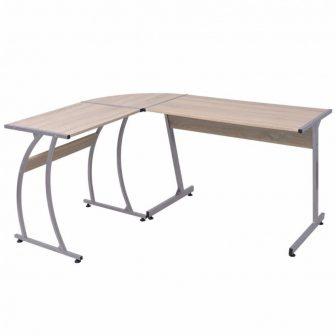 VID Sarok íróasztal tölgy színben