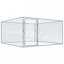 VID kültéri horganyzott acél kutyakennel 2 x 2 m