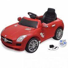 Elektromos kisautó piros Mercedes Benz SLS AMG