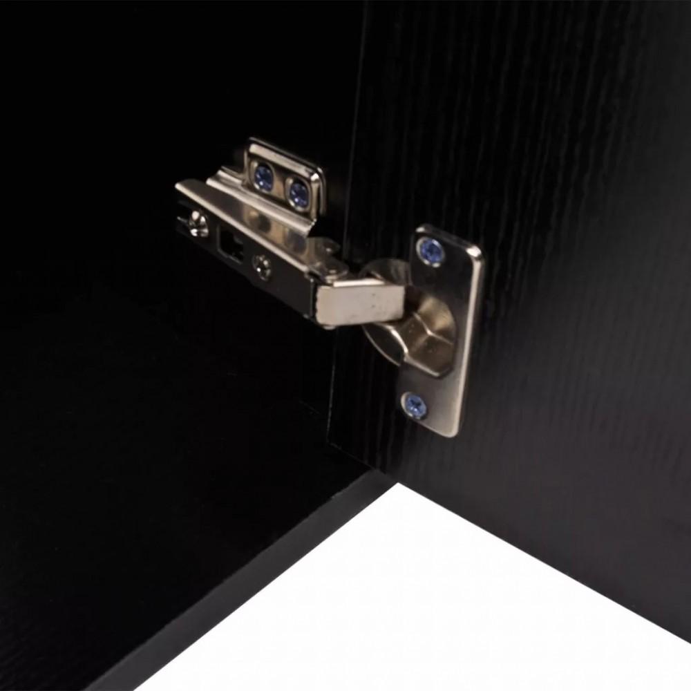 11 részes variálható fürdőszoba bútor szett fekete színben, csapteleppel - Discontmania.hu