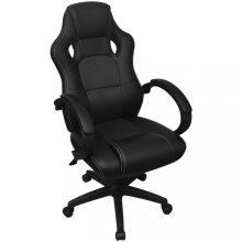 VID vezetői szék fekete