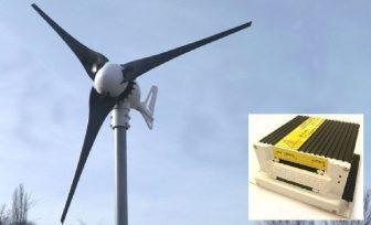 ISTA Breeze i-500 12V Szélgenerátor - szélmalom - töltésvezérlővel
