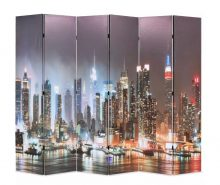 VID paraván 228 x 180 cm New York éjjel