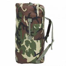 VID terepmintás katonai vászonzsák hátizsák 85 L