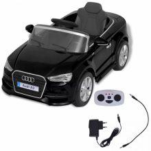 Elektromos kisautó fekete Audi A3