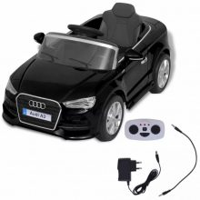 VID Elektromos kisautó fekete Audi A3