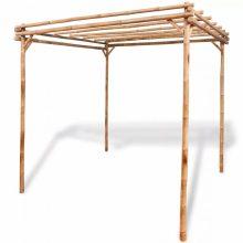 VID bambusz pergola 195 x 195 x 195 cm