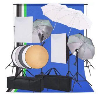 VID fotó stúdió világítás szett