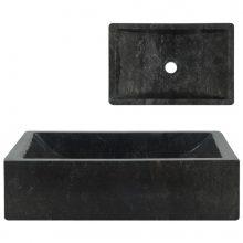 VID fekete márvány mosdókagyló