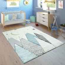 Gyerekszoba szőnyeg - hegy mintával - több választható méret