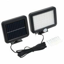 VID fehér napelemes mozgásérzékelős LED lámpa